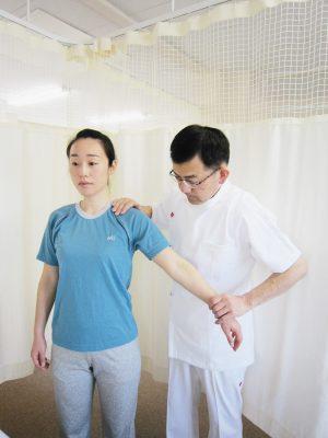 肩関節の調整
